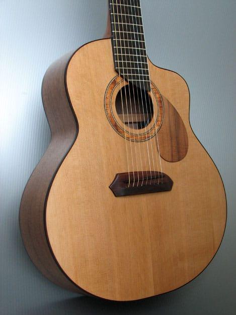 9 string acoustic guitar s b macdonald custom instruments. Black Bedroom Furniture Sets. Home Design Ideas