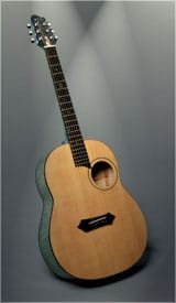 Offset Soundhole Acoustic Sb Macdonald Custom Instruments